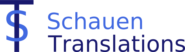 Schauen Translations Logo, 17 KB